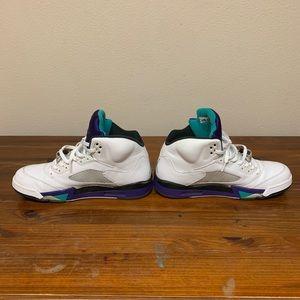Jordan grape 5's